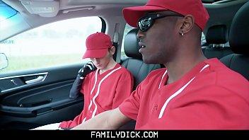FamilyDick - Hot Black Baseball Coach Creampies A Cute Twink Boy