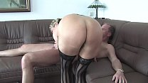 Free Version - Lucia old milf dresses up and enjoys a hot cumshot in her mouth 13 min