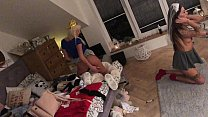 Euro Blonde big ass teen house party amateur private cam
