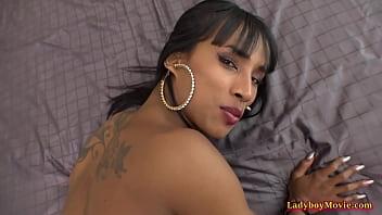 Ladyboy Maria Ass-To-Mouth Bareback Anal