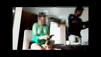 Pankhuri teasing waiter in hotel room