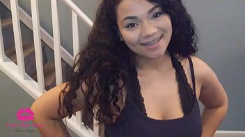 visit FreshNewFaces.club ~ 18 yr old Hawaiian gives Happy Father's Day wish