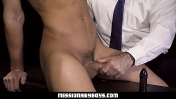 MissionaryBoyz - Furry Priest Punishes A Boy's Asshole With His Thick Cock