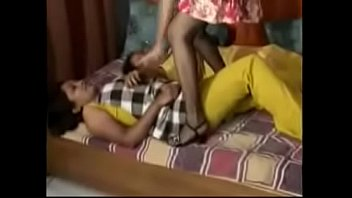 Sanjana In Stockings Caught Her Sisters Spying On Her While Making Out With Her BF