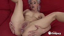 Slutty Granny Kathy White Gets An Anal Creampie From A Horny Black Man