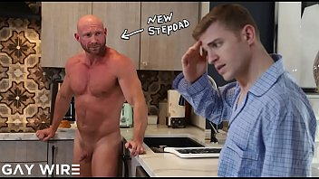 GAYWIRE - Tom Bentley Gets Butt Fucked By His Stepdad, Killian Knox