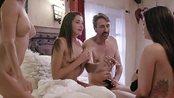Couple Tricked Teens Into A Weird Foursome - Gia Paige, Avi Love and Silvia Saige