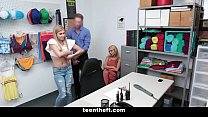 Blondes (Honey Blossom) (Nikki Peach) Strip Searched and Fuck Their Way Out Of Jail
