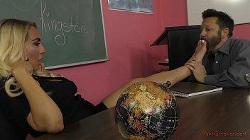 Mean Teacher Kylie Kingston - Foot Worship & Facesitting