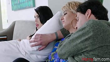 DADDY fucks me while MOM s.