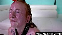 Redhead cunt throat a. to extreme