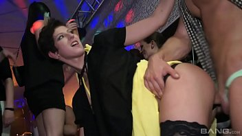 d. orgy with Emylia Argan and other hot Czech bitches