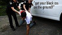 BLACK PATROL - Officers Maggie Green & Joslyn Put Black Suspect In His Place