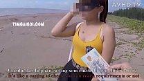 Đi dạo biển gặp girl xinh và cái kết bất ngờ  - PORNAZ.NET