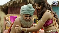Huge deep navel of indian babe