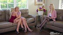 GirlGirl.com - Kali Roses' Stepmother Christie Stevens Fuck The Family Therapist Charlotte Stokely