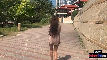 Thai amateur girlfriend teen having sex in the hotel