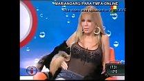 Graciela Alfano muestra su concha
