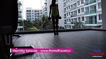 Thai hooker get fuck no condom