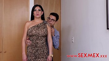 Sexy mature woman went to a job interview, where she got hypnotized and fucked in the ass. 4 min