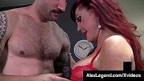 Older Lady Sexy Vanessa Gets Big Cock Banged By Alex Legend!