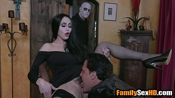 Adam's family taboo orgy - mom dad fuck son and daughter parody