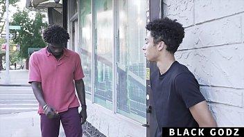 BlackGodz - Black God Pounds A Newcomer's TIght Asshole