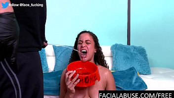 Cute brunette first time pissed on