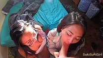 4K threesome with two h. asian girls @Andregotbars