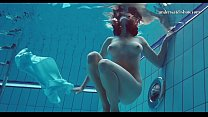 Underwater skinny teen Piyavka Chehova
