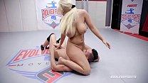 London River vs Kilo White nude wrestling and hard face fucking