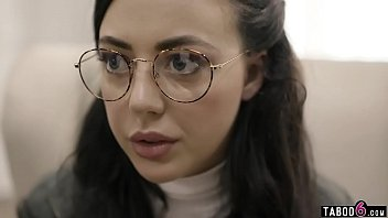Nerdy teen with glasses gets exploited by social worker 6 min