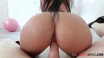 Fucking Latina Sister With Big Butt In Her Black Sundress- Alina Belle
