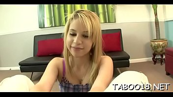 Breathtaking teen lady Mae Olsen gets bonked
