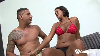 Brazilian MILF Slides A Cock In Her Big Brown Bunda