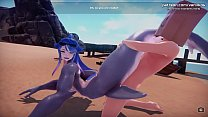 [1080p60fps]Monster Girl Island   Horny anime mermaid with big boobs blowjob and pussy creampie   My sexiest gameplay moments   Part #4