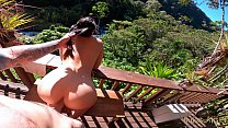 OUTDOOR Creampie & Deepthroat with a drone in the air Andy Savage & SukiSukigirl