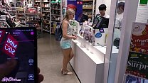 Remote Vibrator In Large Mall - Lot Of Fun With Letty Black