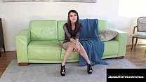 Butt Fucked Babe Misha Cross Gets A Warm Anal Creampie!