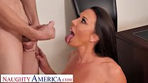 Naughty America Rachel Starr shows student how to please a woman