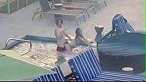 Voyeur couple caught fucking in a hotel pool (sneakyvoyeur.com)