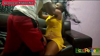 Curvy young ebony and facialsed 4 min