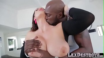 Voluptuous Alison Tyler interracial fuck
