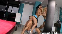 Big Ass Latina Jakeline Teen loves to fuck and bounce on Latin lover Nacho Vidal's cock. Her natural tits keep up with the beat