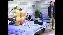 Whipping of the Two young blondies