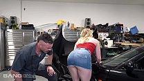 Trickery - Dirty Mechanic Tricks Kenzie Madison Into Sex