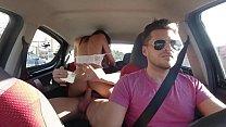 Having sex with pretty latina on the Uber (b. Nicols)