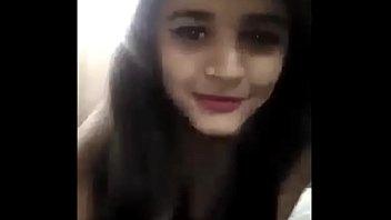 Desi collage girl selfie video making her bf