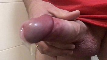 DOUBLE CUMSHOT SLOMO - full balls - floating cum