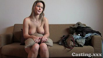 Casting HD Fit blonde goes all the way in casting 11 min